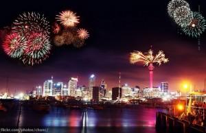 Auckland-ohnostroj